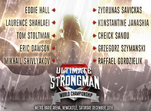 Ultimate Strongman Tickets