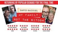 David Baddiel - My Family: Not the SitcomTickets
