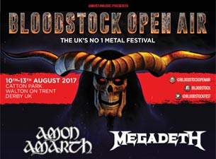 Bloodstock Open Air 2017 - Weekend And Camping Tickets