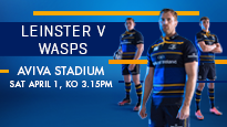 More Info AboutEuropean Rugby Champions Cup Quarter Final - Leinster Rugby v Wasps