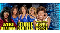 The Three Degrees, Jaki Graham & Voice of Rose Royce Gwen Dickey Tickets