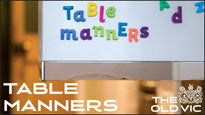 Table Manners - the Norman ConquestsTickets