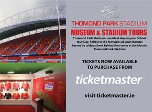 Munster Rugby Museum & Thomond Park Stadium Tour Tickets