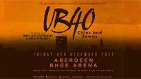 Ub40 - Cities and Towns - VIP Upgrade Tickets