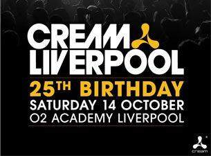 Cream 25th BirthdayTickets