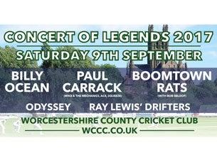 Concert of Legends 2017Tickets