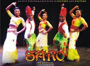 Saro the MusicalTickets