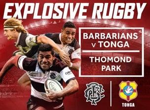 Barbarians v TongaTickets