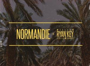 Normandie & William Ryan Key (Yellowcard)Tickets