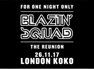 Blazin' Squad Tickets