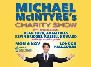 Michael McIntyre's Charity ShowTickets