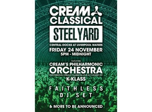Cream Classical - Steel Yard Tickets