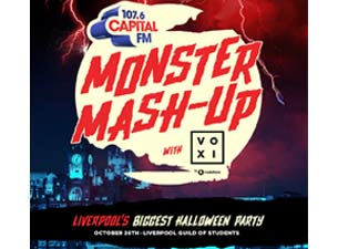 Capital's Monster Mash Up with Voxi Tickets