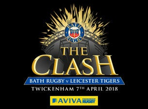 The Clash: Bath Rugby v Leicester TigersTickets