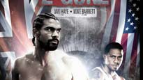 Boxing - David Haye V Monte Two Gunz Barrett Tickets