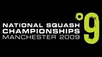National Squash ChampionshipsTickets