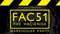 Fac51 Hacienda Warehouse PartyTickets