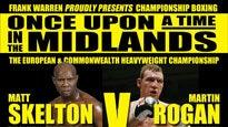 Championship Boxing - Birmingham NiaTickets