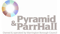 Logo for Pyramid and Parr Hall