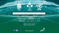 6 Nations Ireland U20s V England U20s