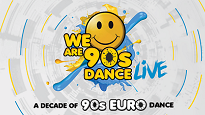 We Are 90s Dance Live Ft. 2 Unlimited