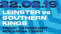 Guinness Pro14 - Leinster Rugby V Southern Kings