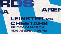 Guinness Pro14 - Leinster Rugby V Cheetahs