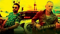Sting & Shaggy - 44/876 UK Tour 2019 - VIP Packages