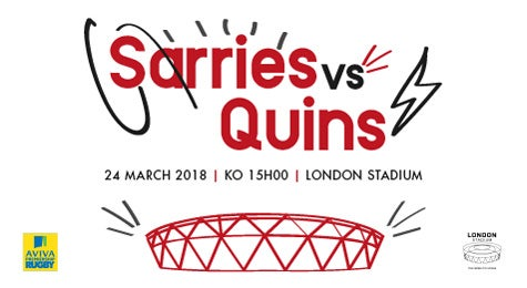 More info aboutSarries v Quins