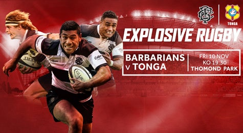 More info aboutBarbarians V Tonga