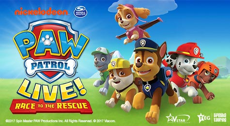 More info aboutPAW Patrol Live!