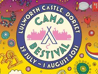Camp Bestival 2021 Backstage Camping Upgrade