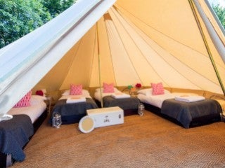 Gold Bell Tent for 4
