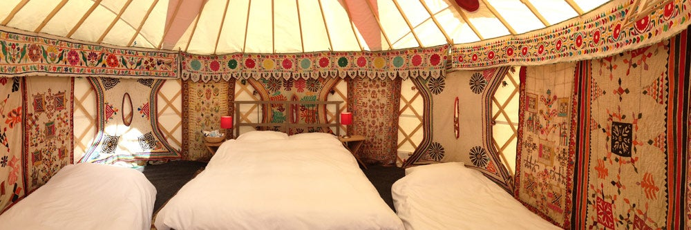 Luxury Yurt for 4