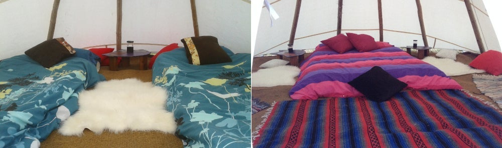 Country Tipi for 2 or 3