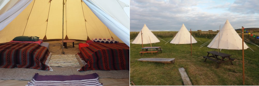 Tipi Tent for 3