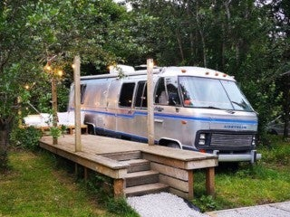 70s Motorhome Airstream for 4