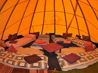 Wild Tribe Teepee Camp