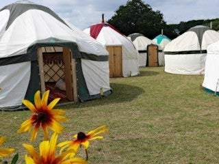 Deluxe Yurt for 3, 4 or 6