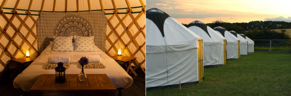 Classic Yurt for 2 or 4