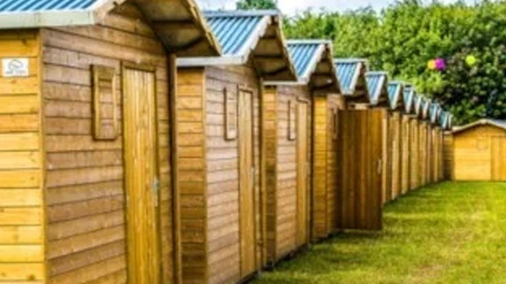 Crew Hut for 2, 3 or 4