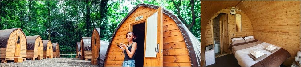 Luxury Cabin for 2 (en suite)