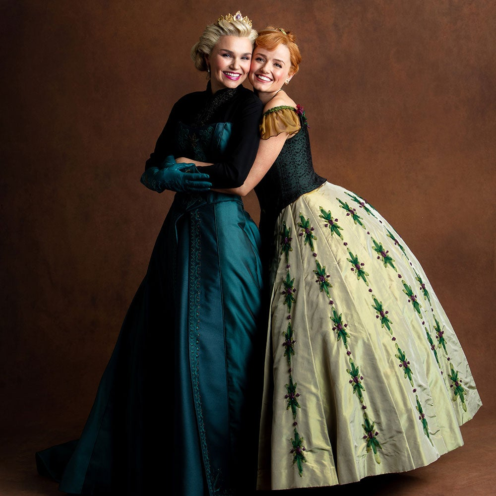 Disney's Frozen The Musical theatre cast and creative