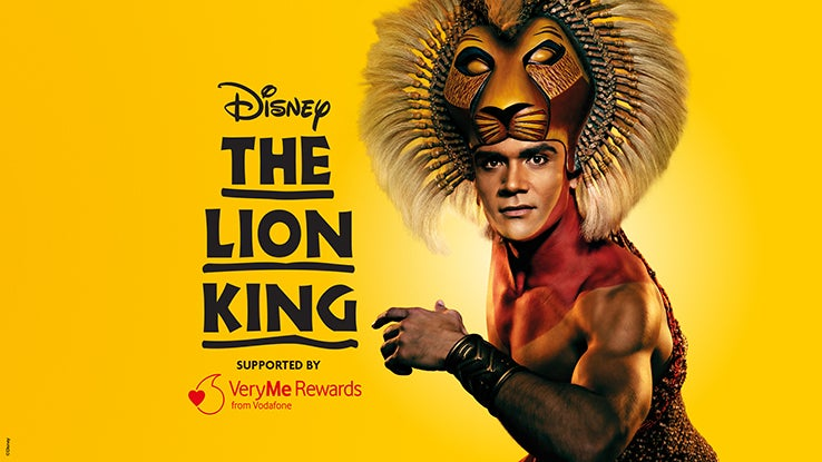 The Lion King comes to Edinburgh in January 2020