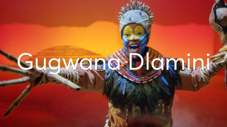 Meet Disney's The Lion King star Gugwana Dlamin