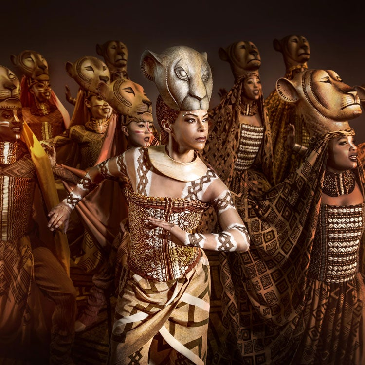 Accessible tickets for The Lion King Musical