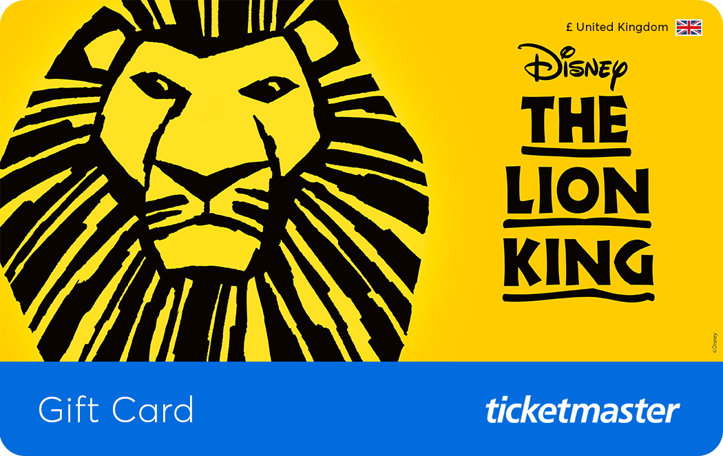 The Lion King Gift Card