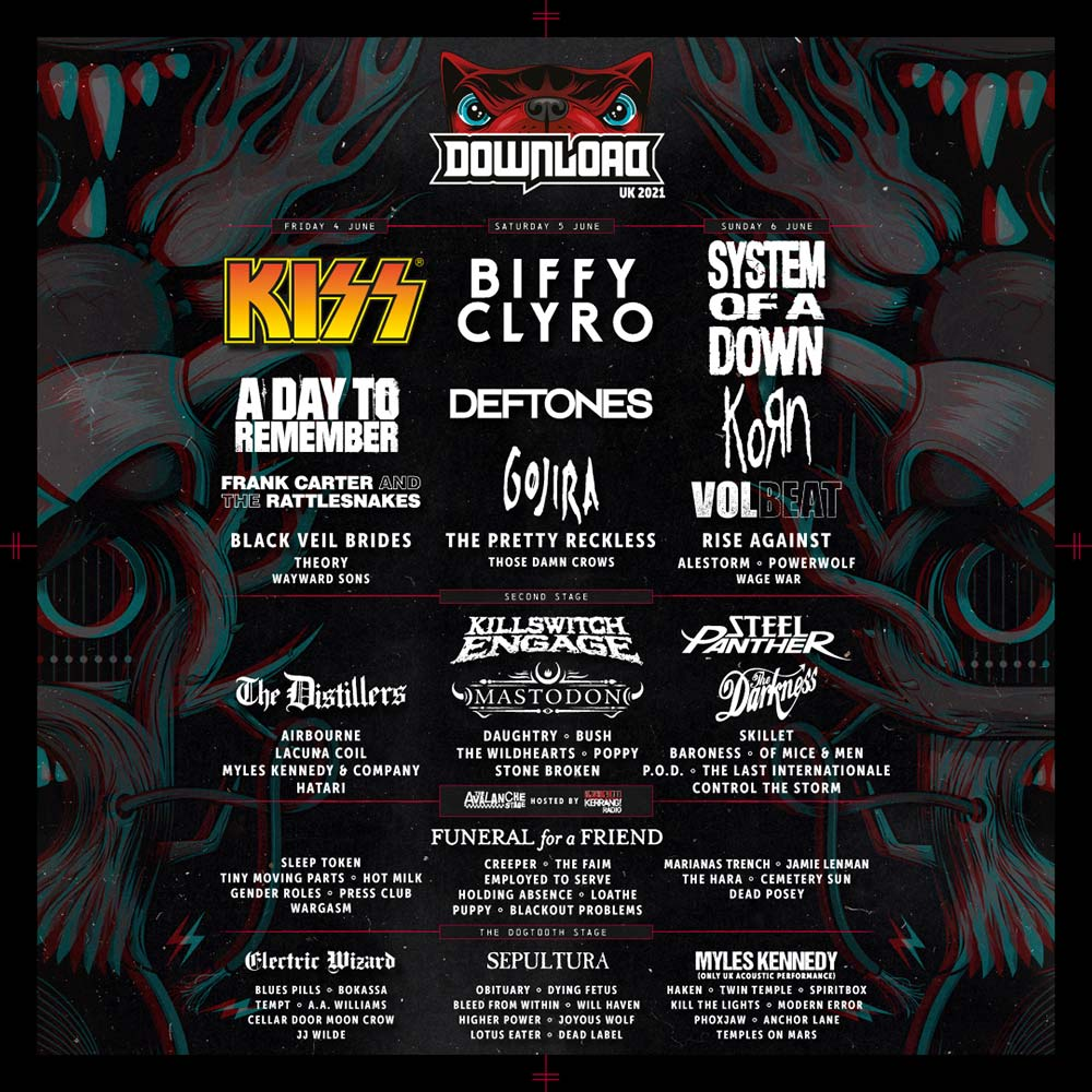 Download Line-up 2021