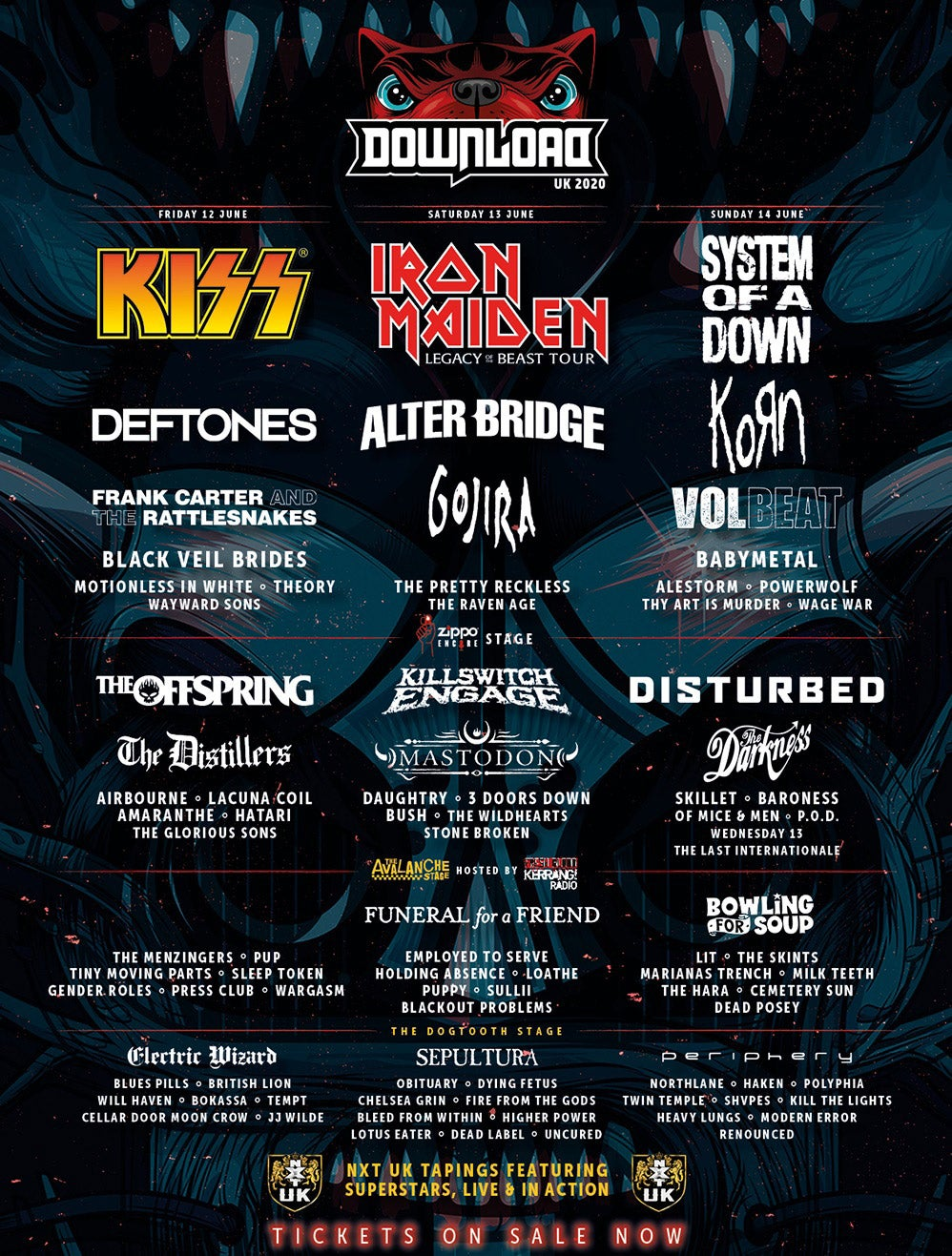 Download Line-up 2020