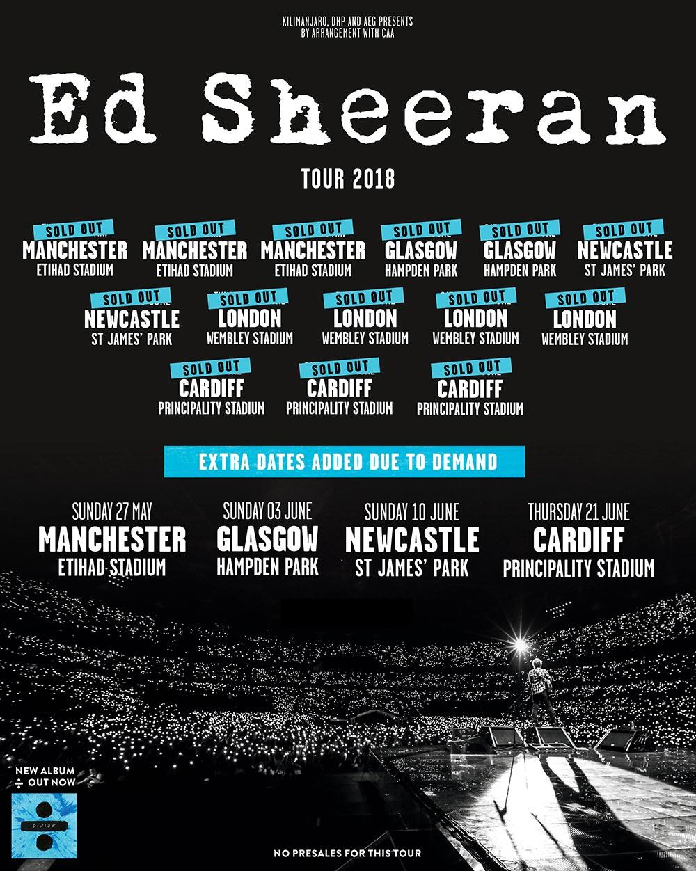 Ticketmaster Co Uk Ed Sheeran Official Ticketmaster Site